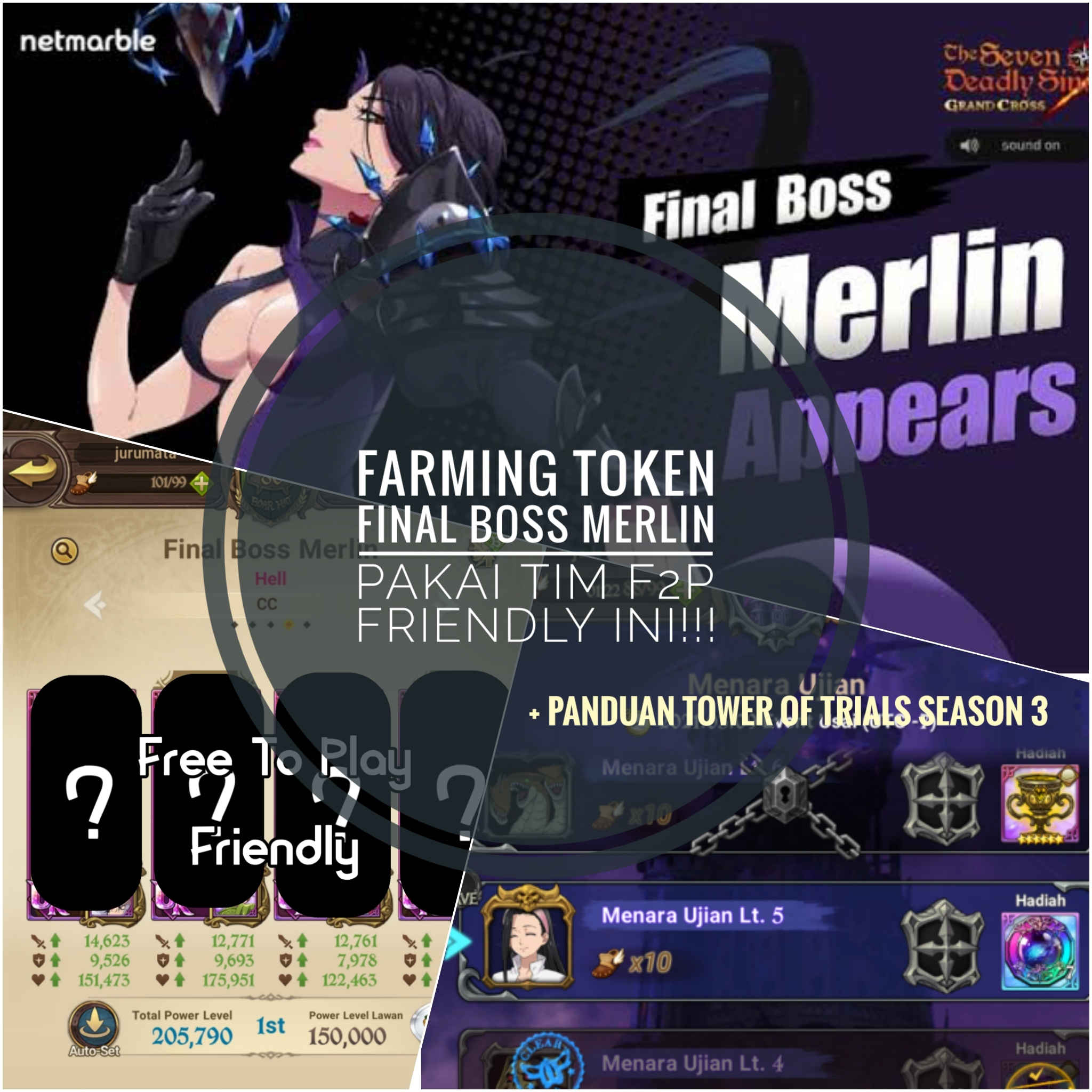 Cara Cepat Farming Final Boss Merlin